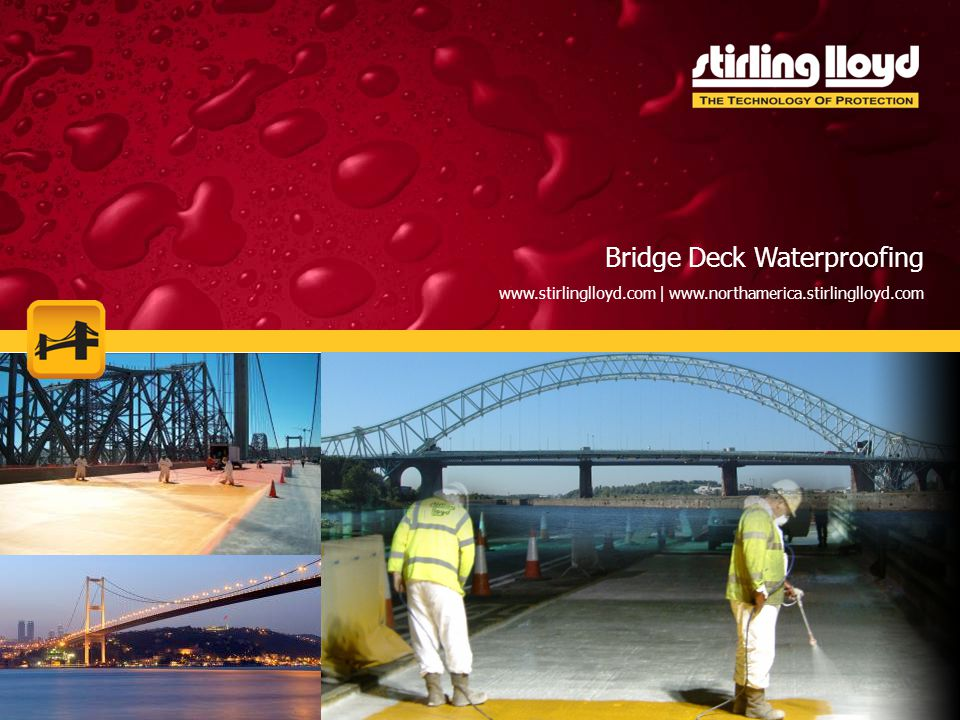 Market Sectors Bridge Deck Waterproofing