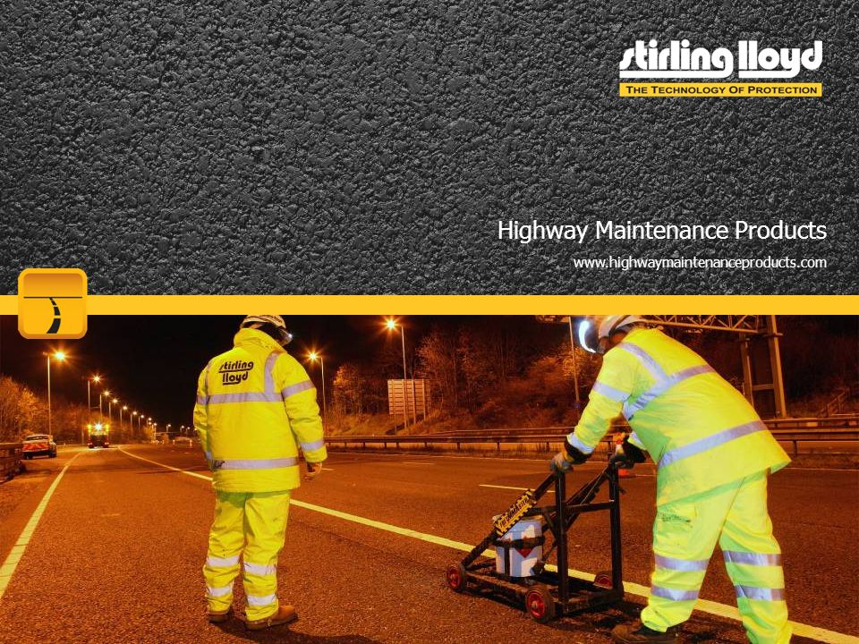 Highway Maintenance Products