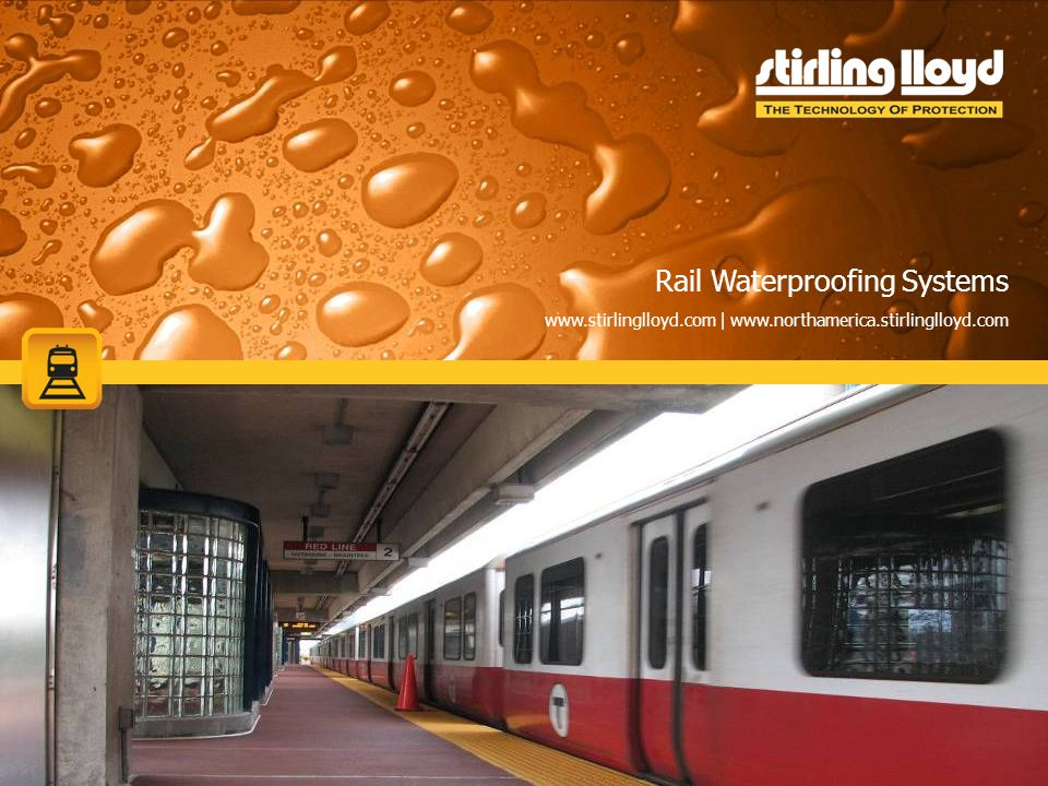 Rail Waterproofing Systems