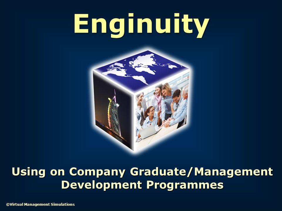 Using on Company Graduate/Management Development Programmes