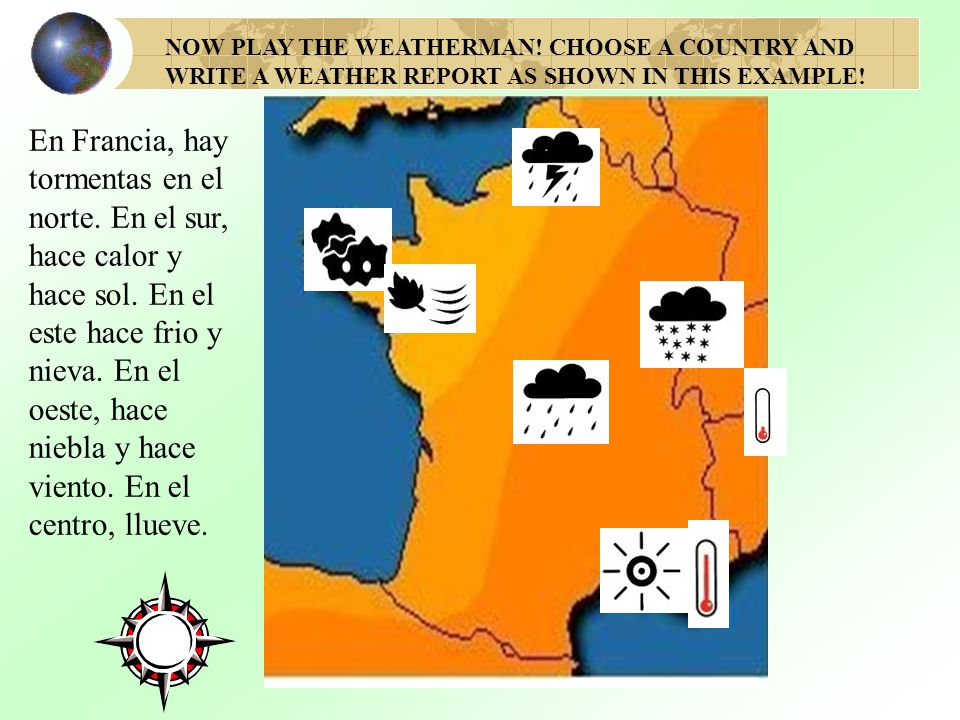 NOW PLAY THE WEATHERMAN