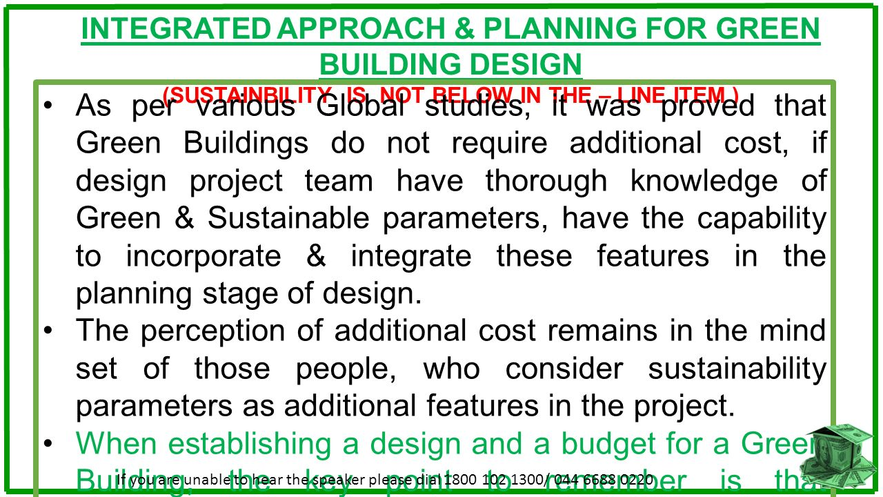Cost Perception About Green Buildings Ppt Download