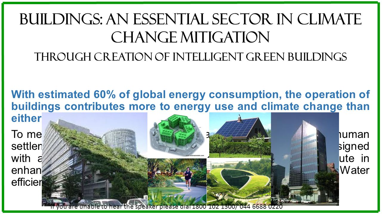 Buildings: An essential sector in climate change Mitigation
