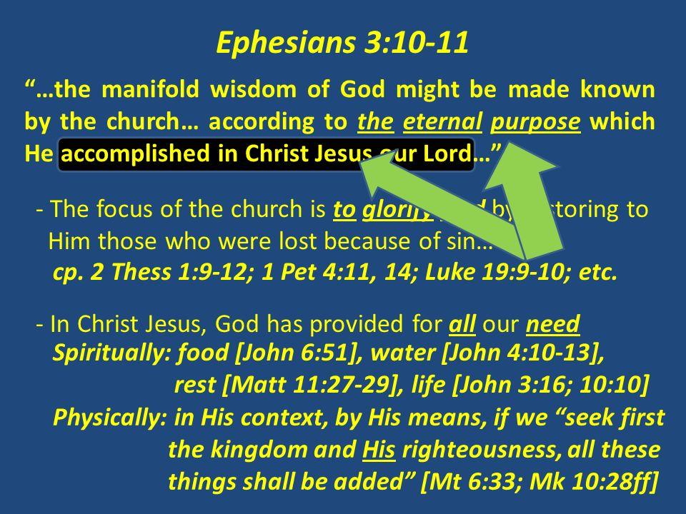Ephesians 3:10-11
