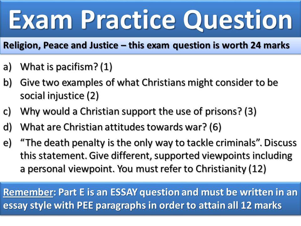 Exam Practice Question