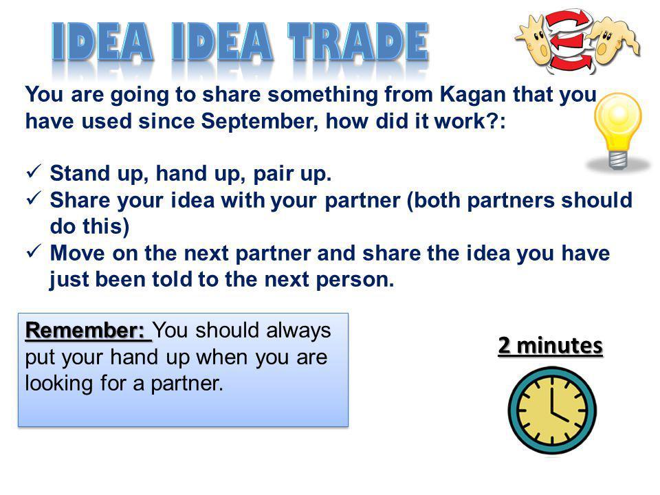 Idea idea trade 2 minutes