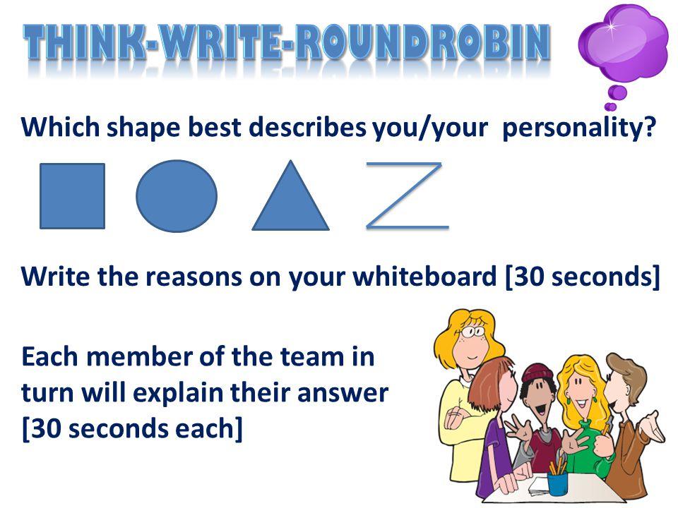 Think-Write-RoundRobin