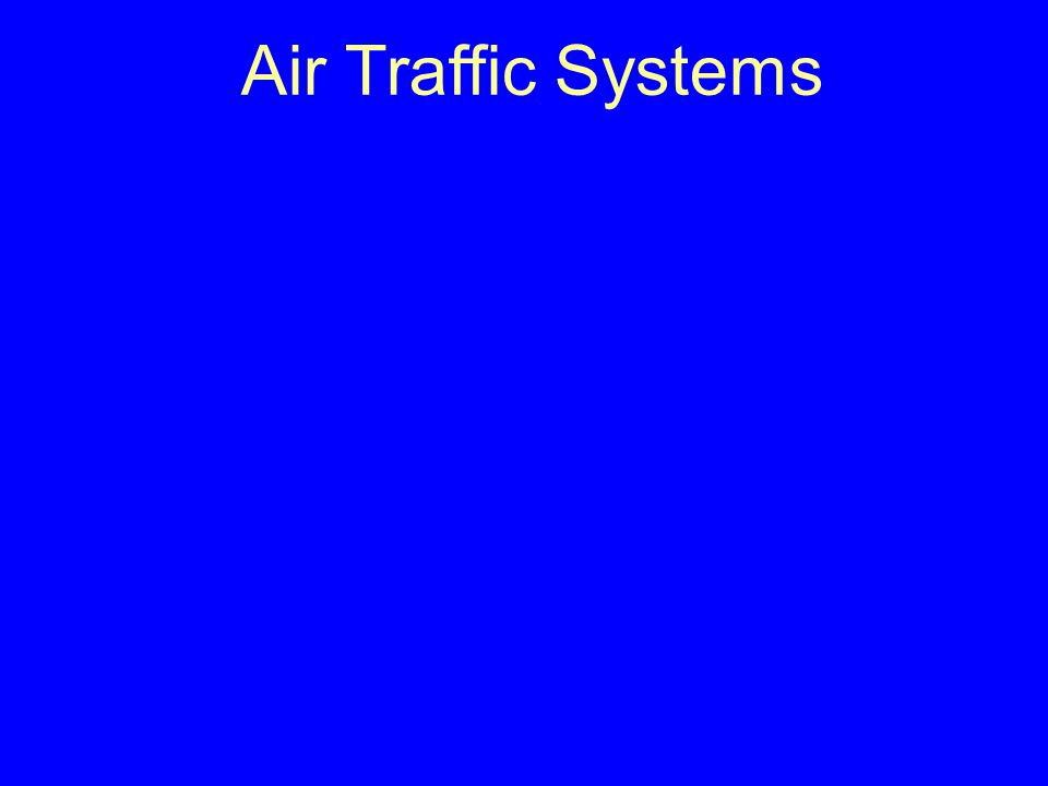 Air Traffic Systems