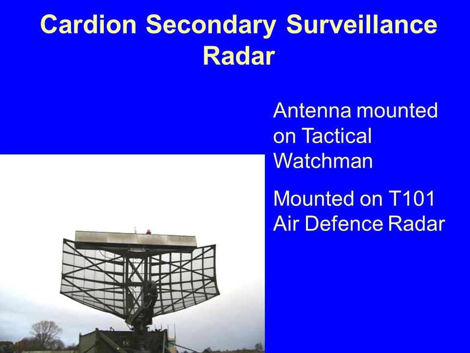 Cardion Secondary Surveillance Radar