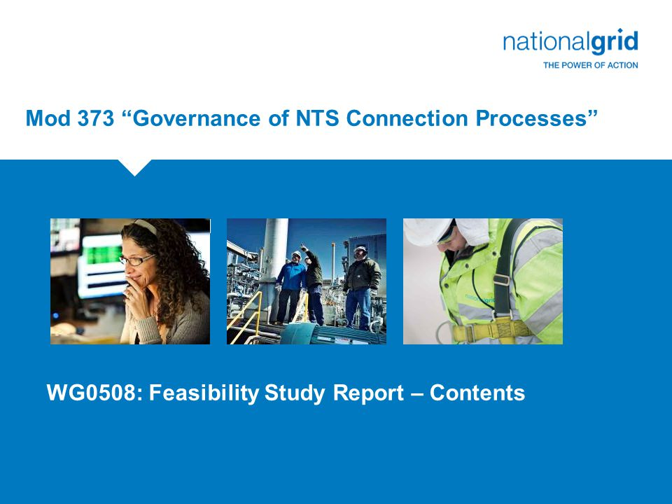 Mod 373 Governance of NTS Connection Processes