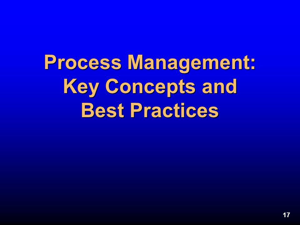 Process Management: Key Concepts and Best Practices