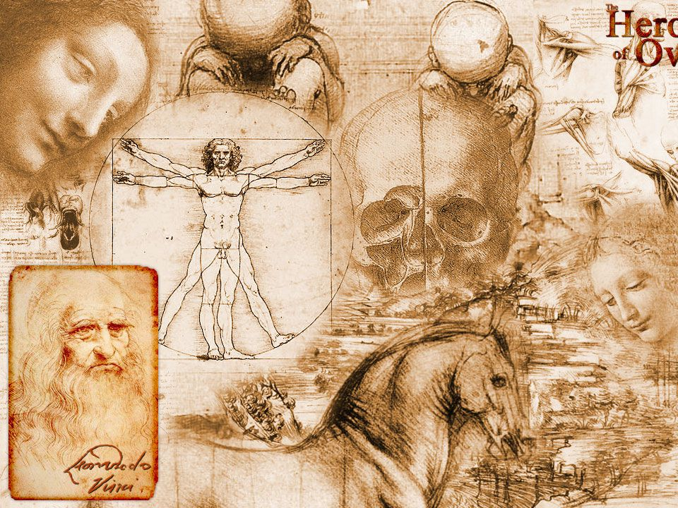 da Vinci - possible that he would be diagnosed with ADHD as well as dyslexia and language difficulties.