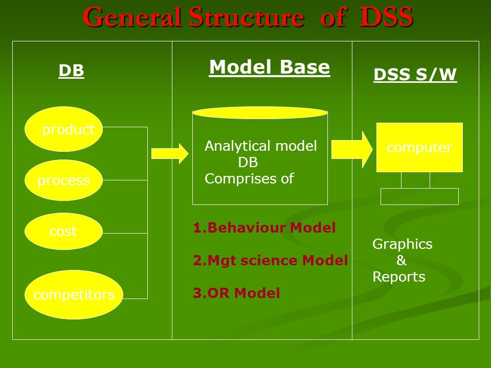 General Structure of DSS