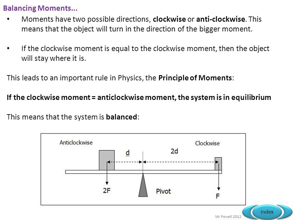 Balancing Moments...