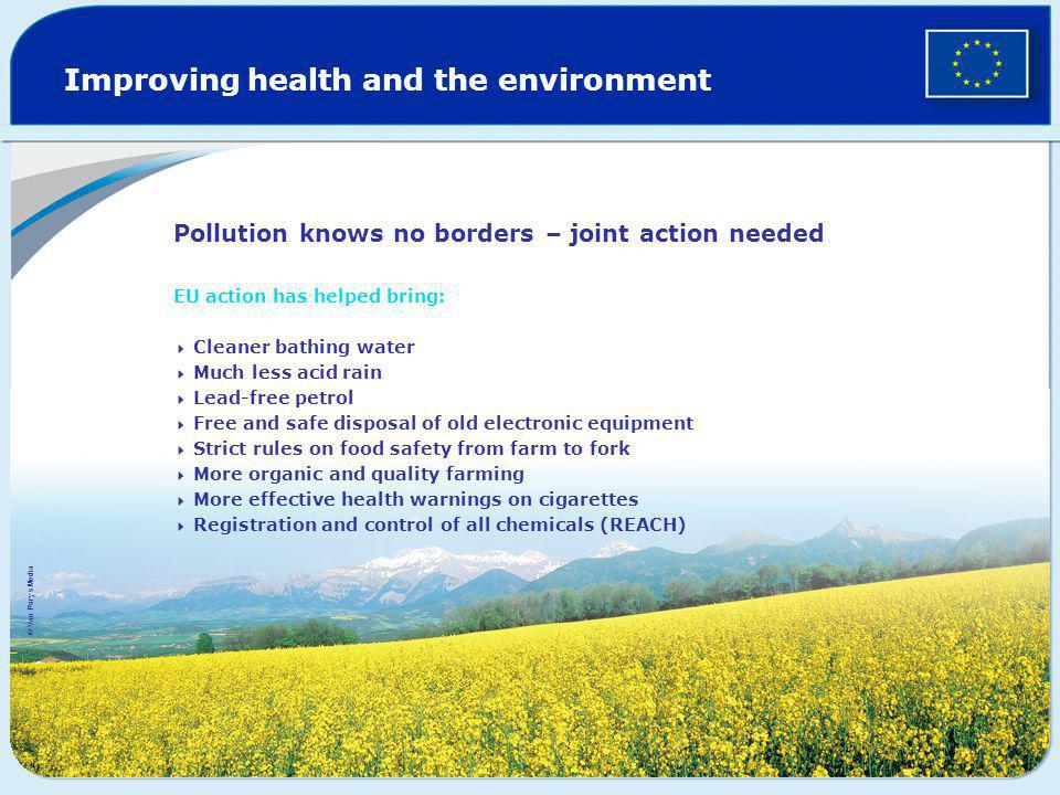 Improving health and the environment