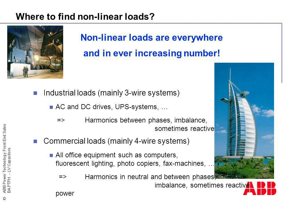 Non-linear loads are everywhere