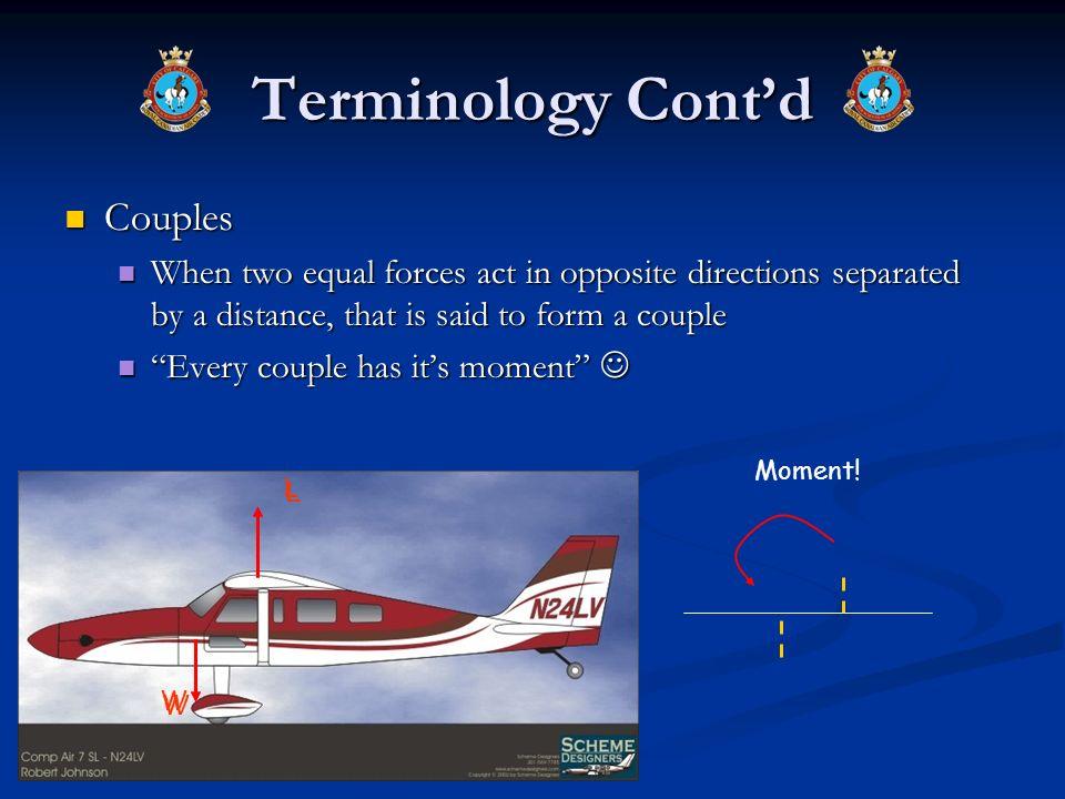 Terminology Cont'd Couples