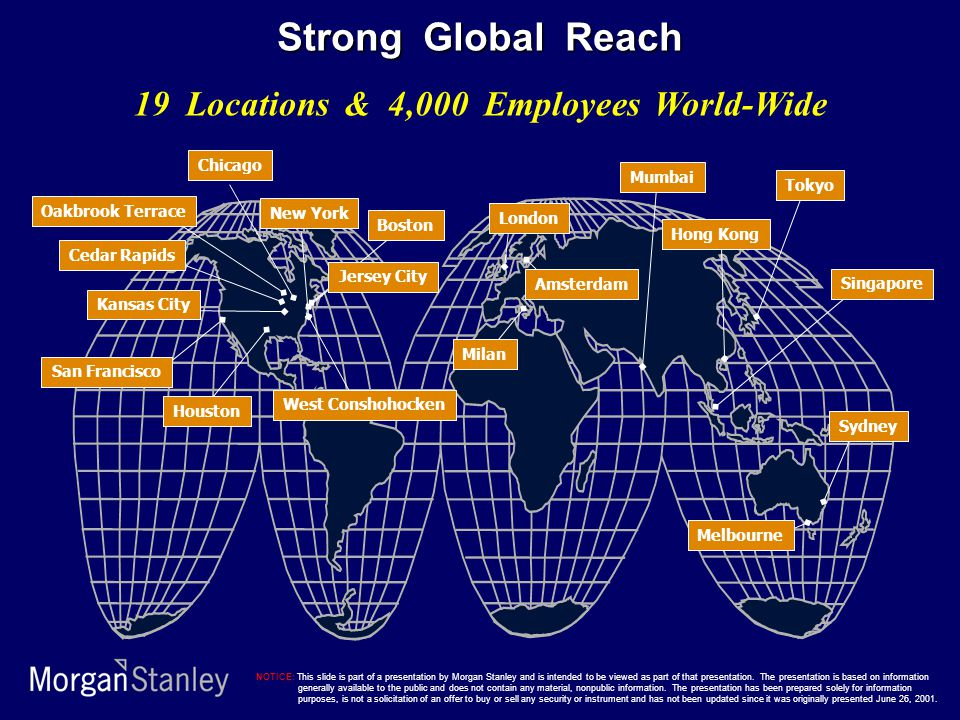 19 Locations & 4,000 Employees World-Wide