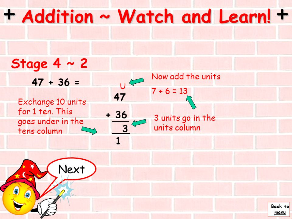 + Addition ~ Watch and Learn! +