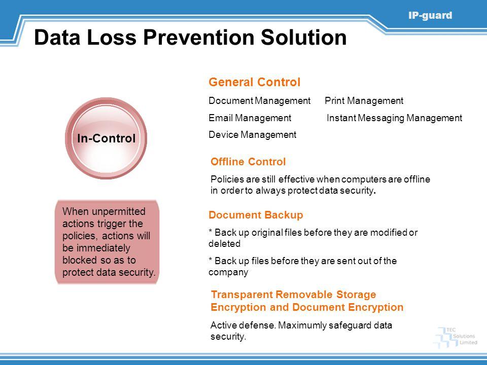 Data Loss Prevention Solution
