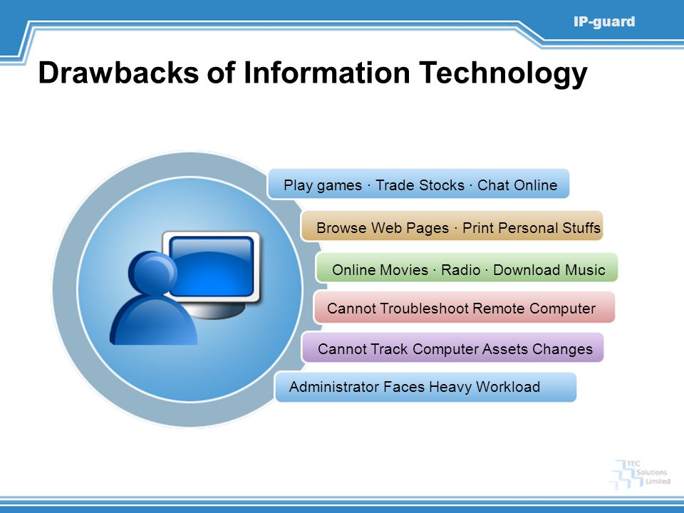 Drawbacks of Information Technology