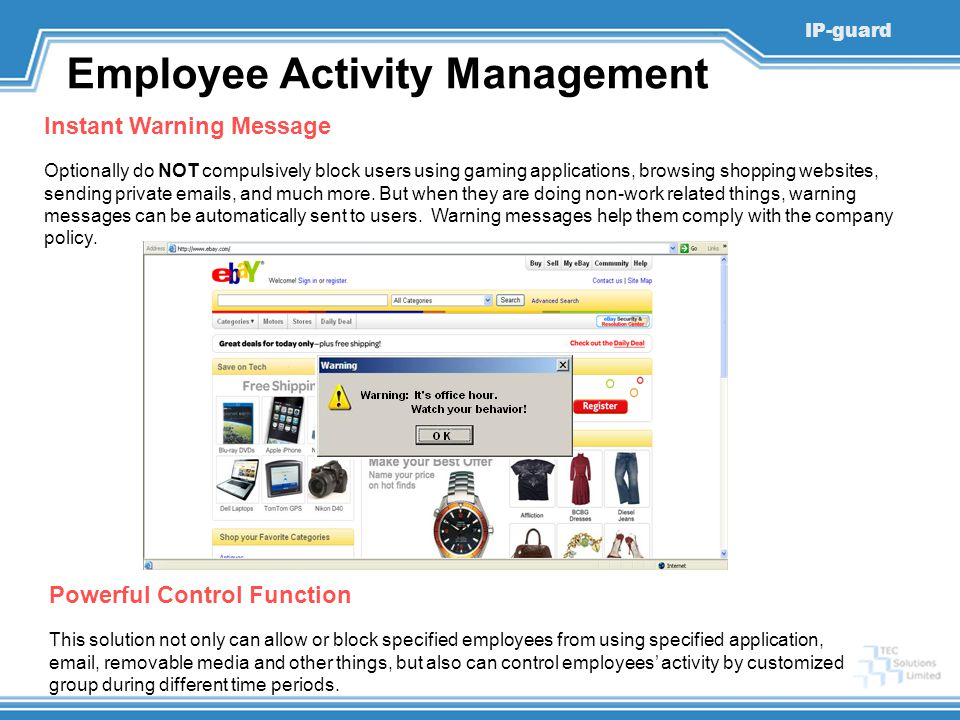 Employee Activity Management