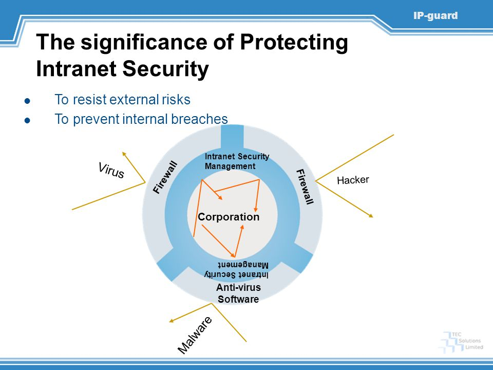 The significance of Protecting Intranet Security