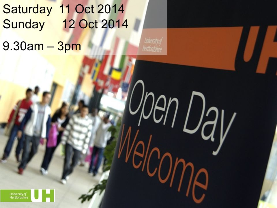 Saturday 11 Oct 2014 Sunday 12 Oct 2014 9.30am – 3pm