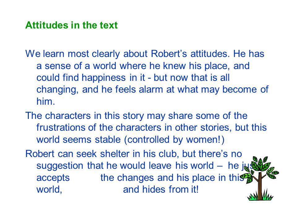 Attitudes in the text