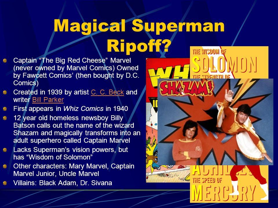 Magical Superman Ripoff
