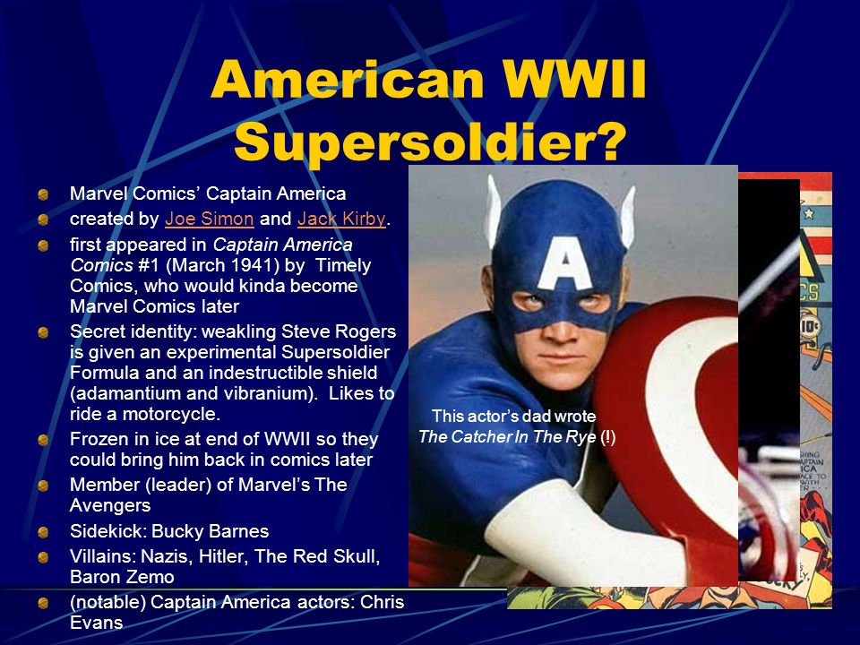 American WWII Supersoldier