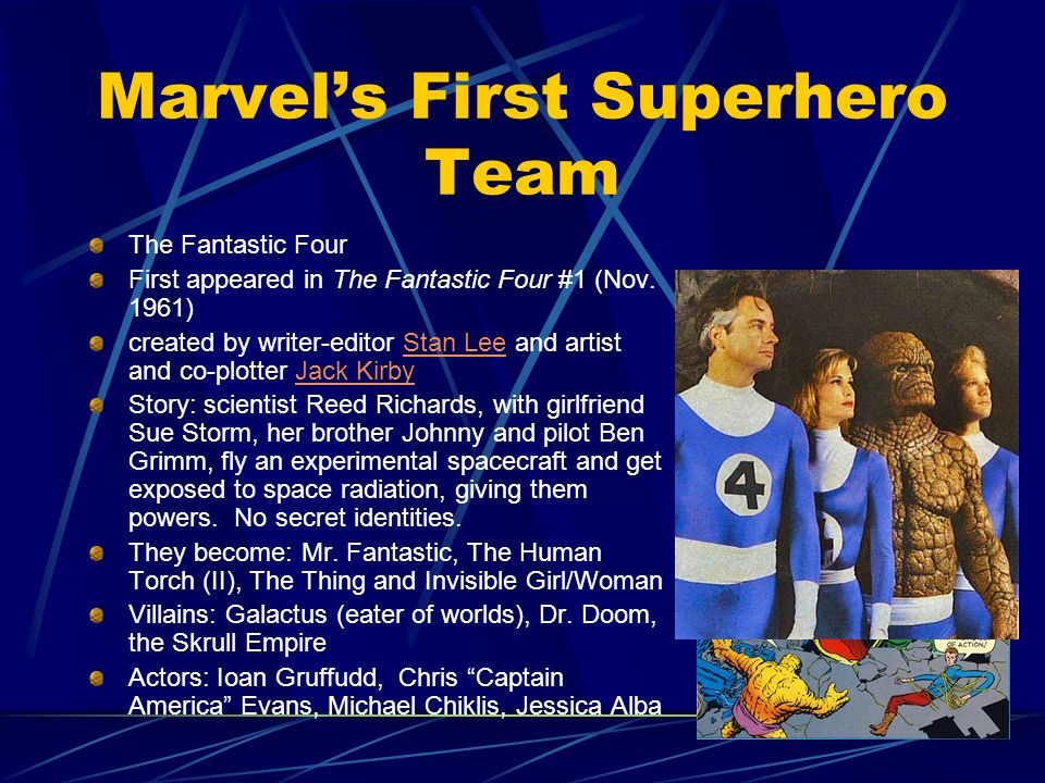 Marvel's First Superhero Team