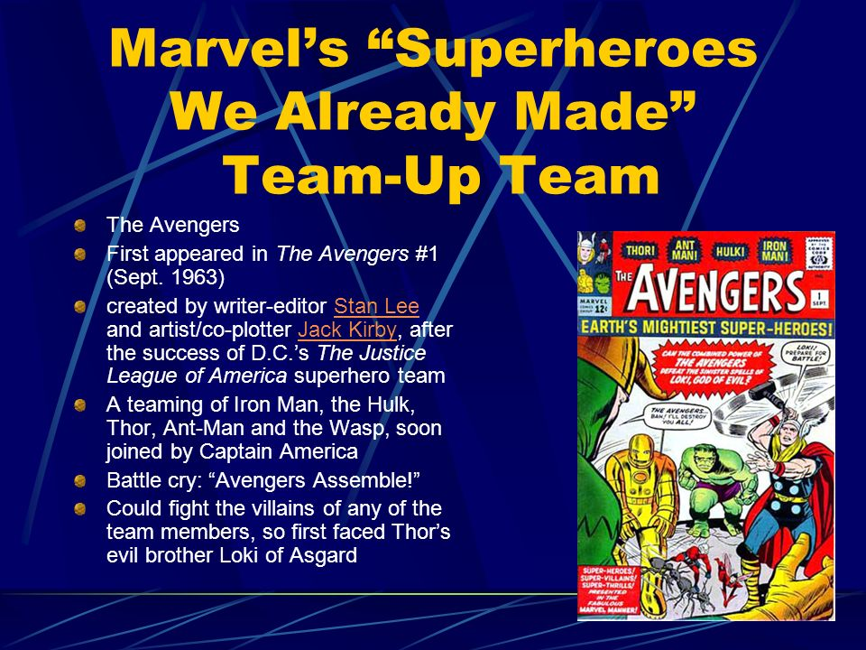 Marvel's Superheroes We Already Made Team-Up Team