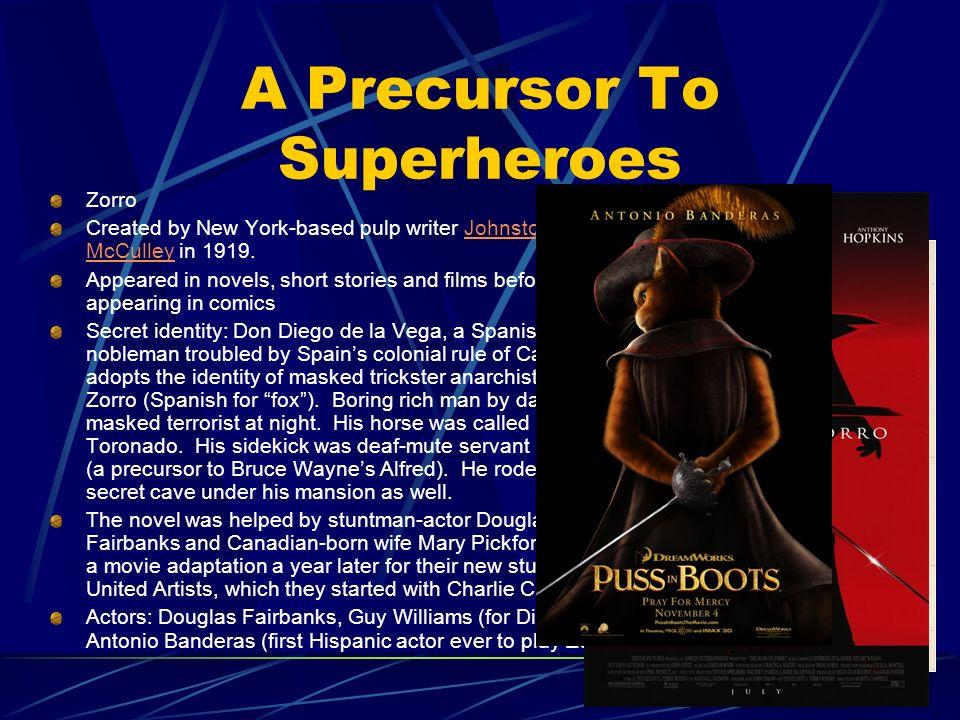 A Precursor To Superheroes