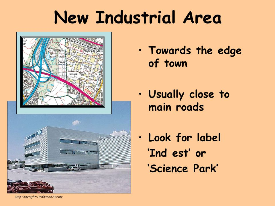 New Industrial Area Towards the edge of town