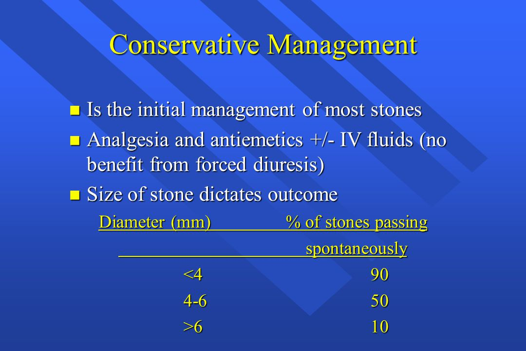 Conservative Management