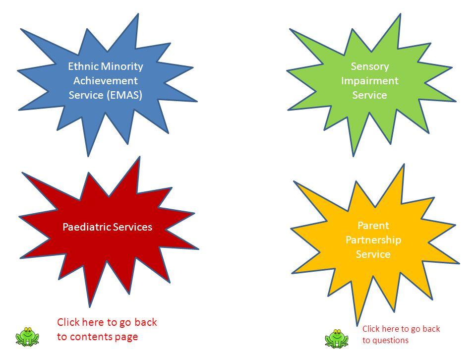 Ethnic Minority Achievement Service (EMAS) Sensory Impairment Service
