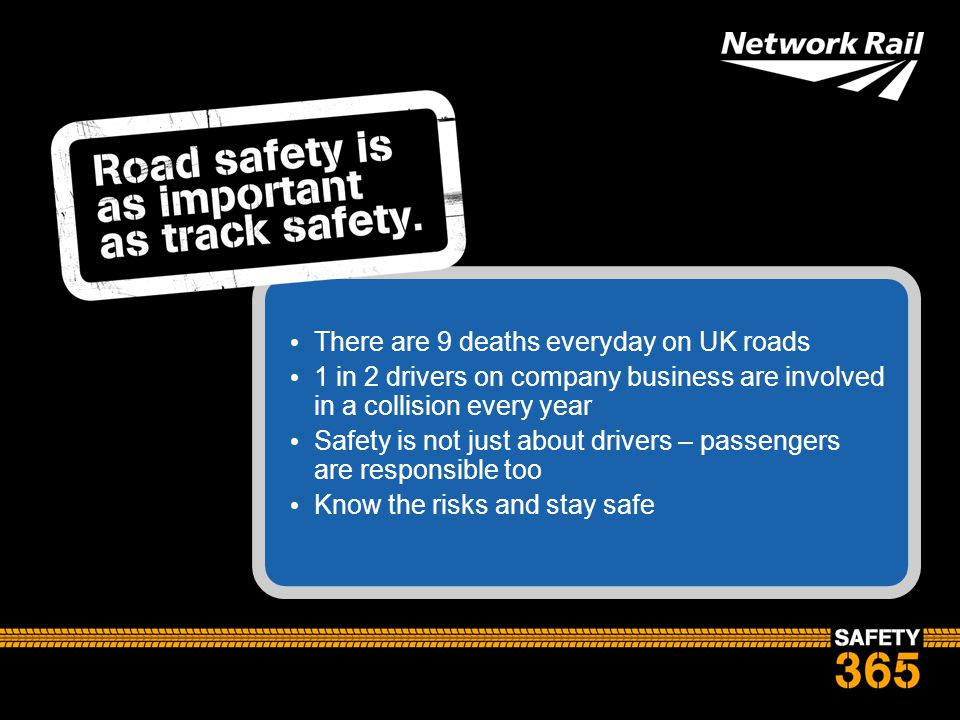 There are 9 deaths everyday on UK roads