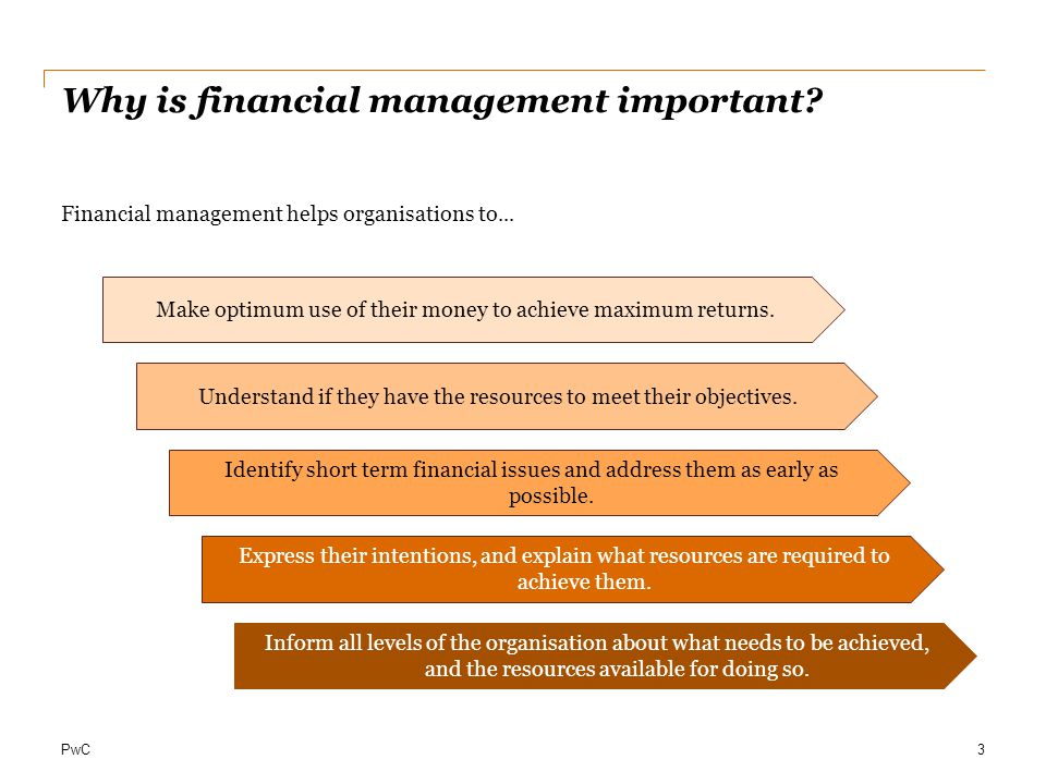 Why is financial management important