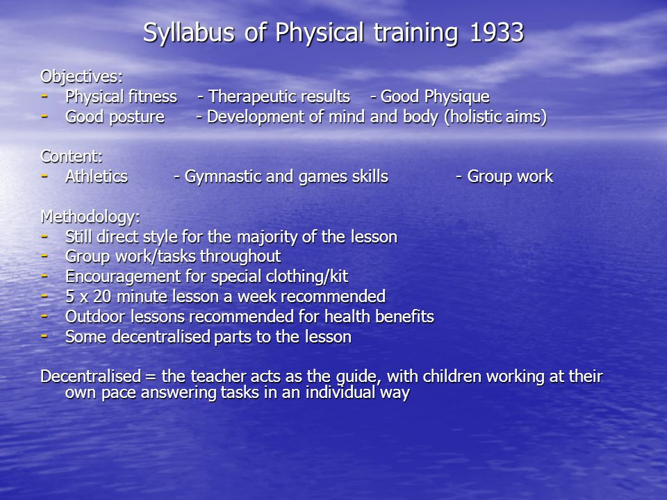 aims and objectives of physical education pdf