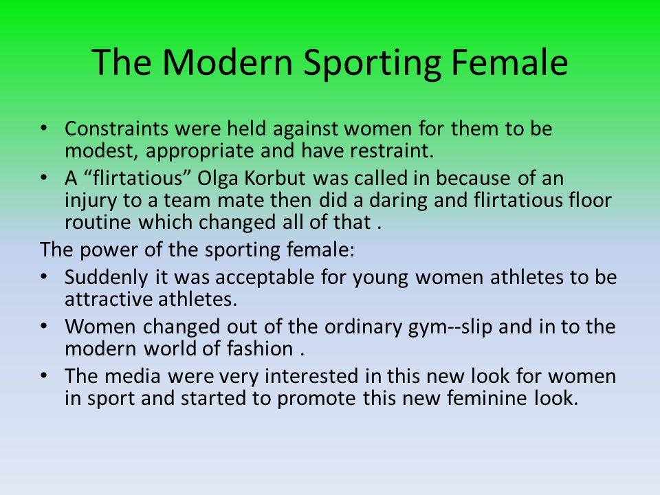 The Modern Sporting Female