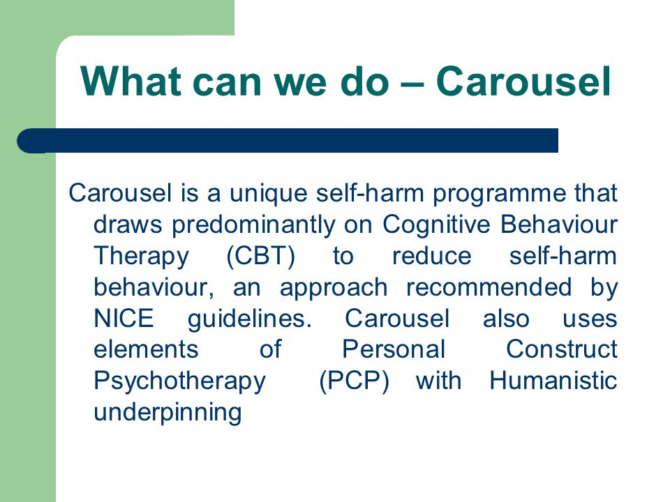 What can we do – Carousel