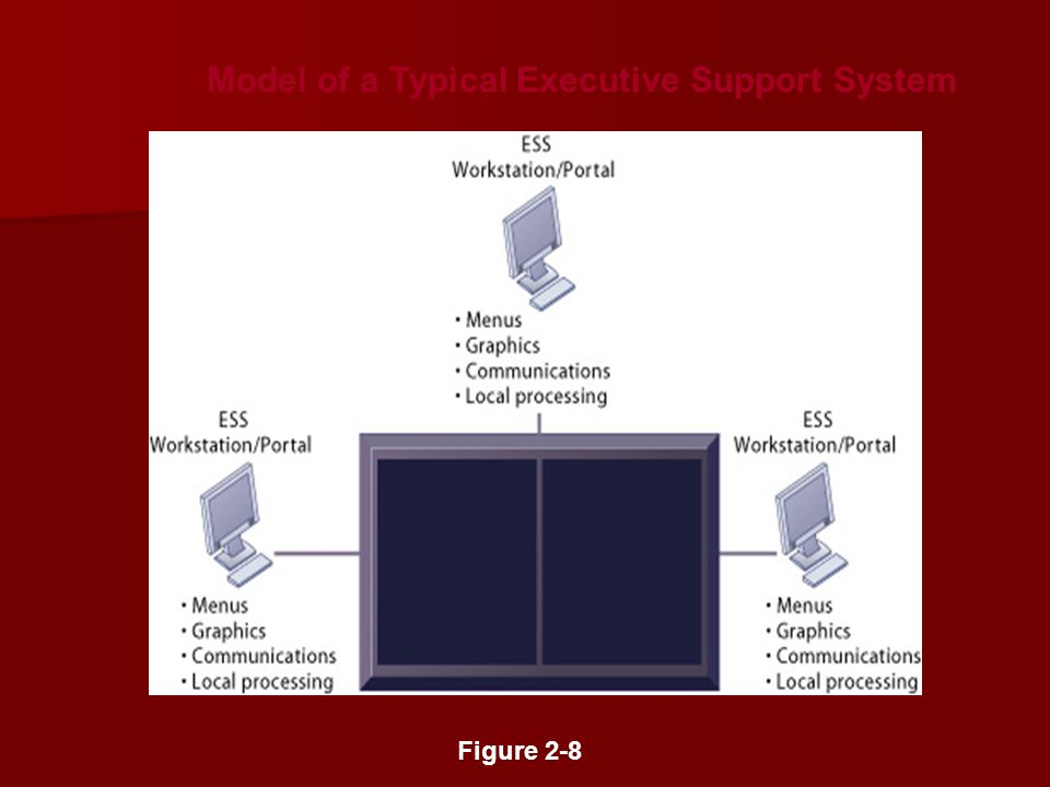 Model of a Typical Executive Support System