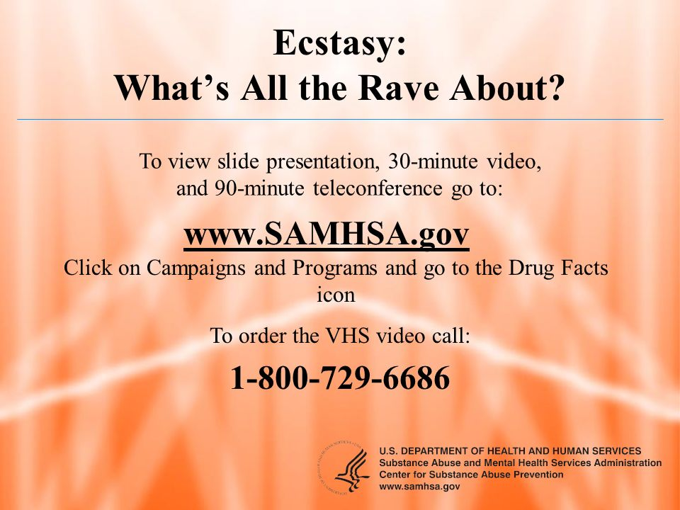 Ecstasy: What's All the Rave About