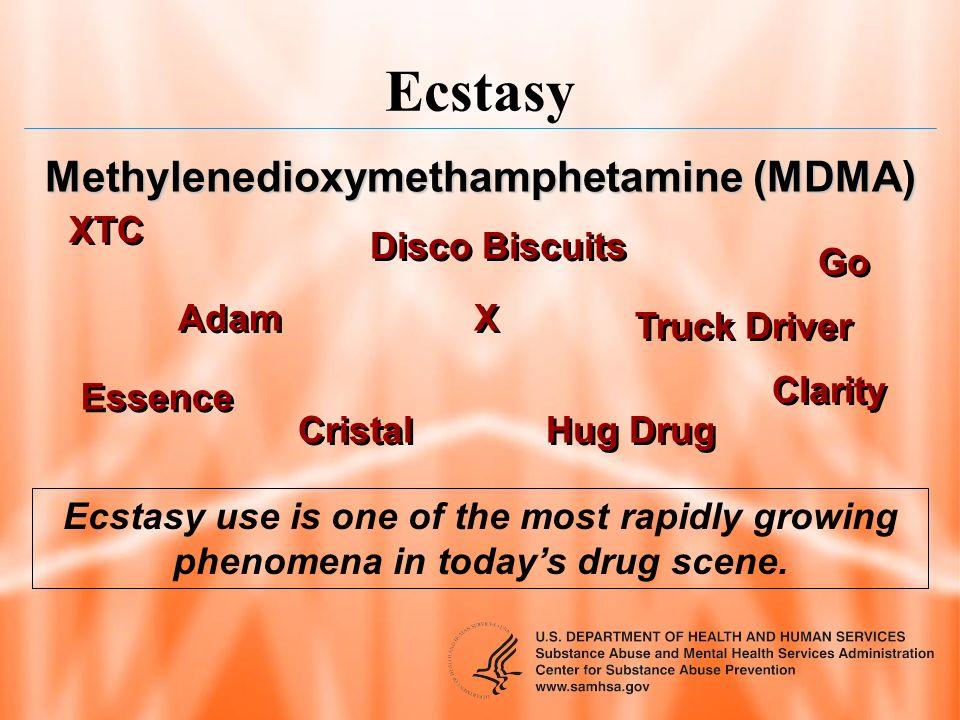 Methylenedioxymethamphetamine (MDMA)