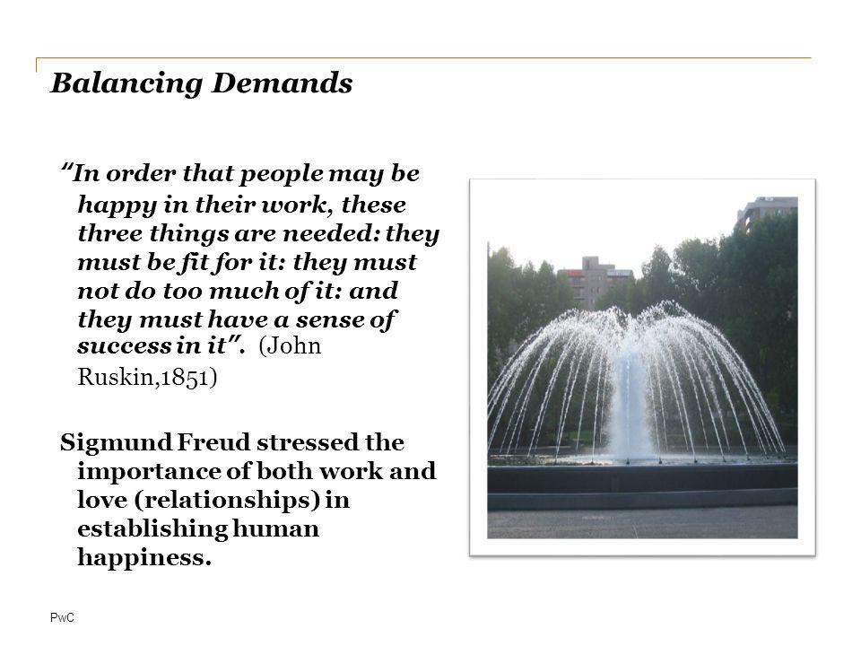 Balancing Demands