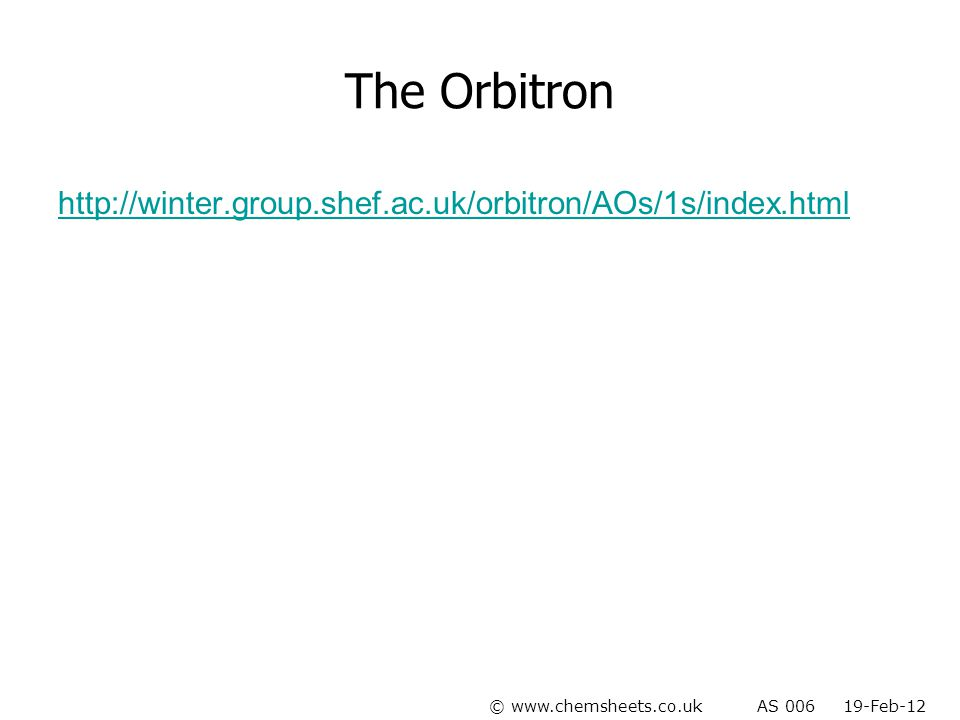 The Orbitron http://winter.group.shef.ac.uk/orbitron/AOs/1s/index.html