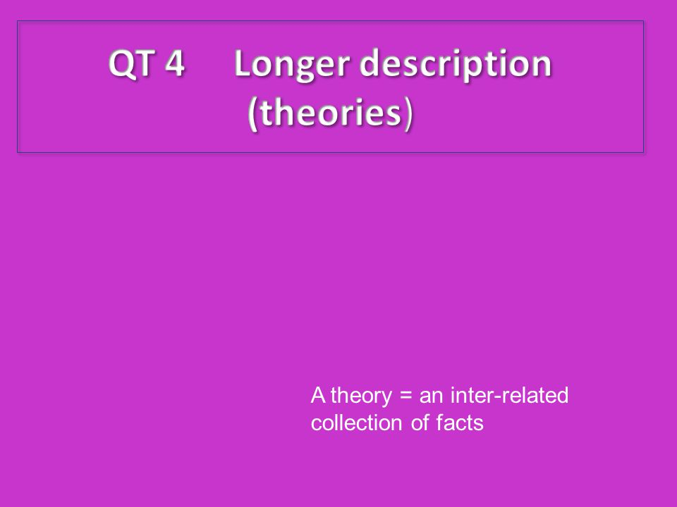 QT 4 Longer description (theories)