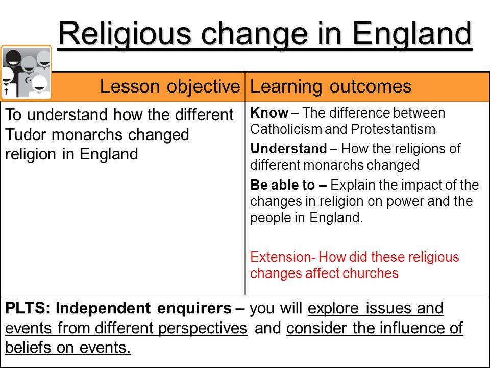 Religious change in England