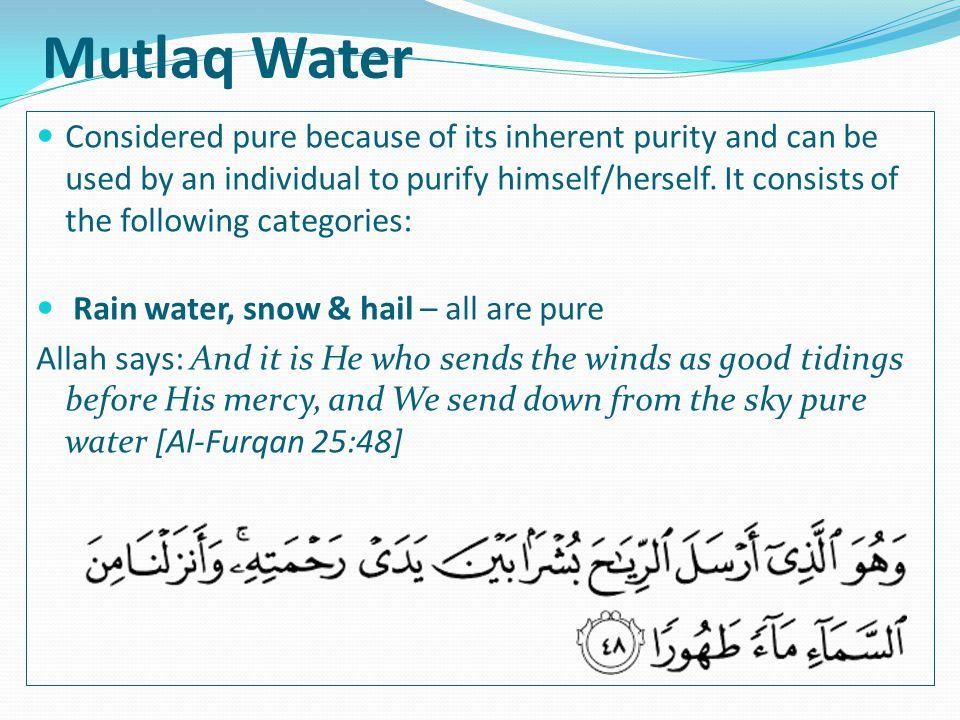 Mutlaq Water